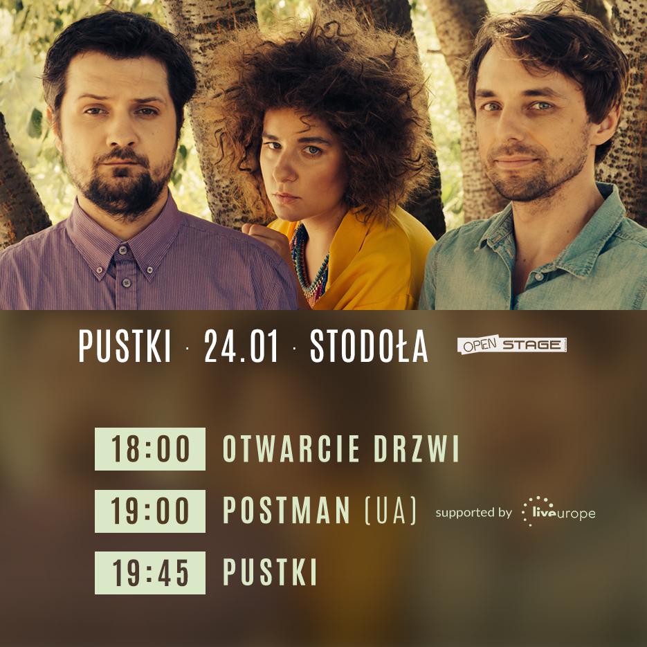 Pustki 24012019 Klub Stodoła Open Stage
